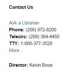 call list