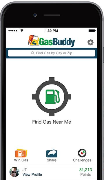 gas buddy phone