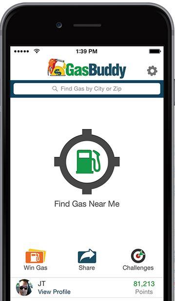 gas buddy phone