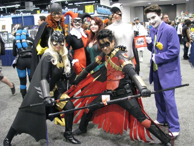 WonderCon_2014_-_Batman_group_cosplay_(13931840771)